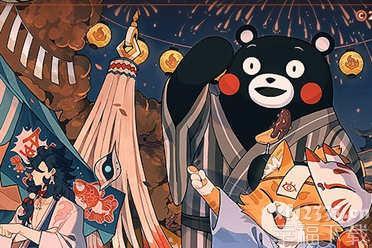 《阴阳师:百闻牌》联动熊本