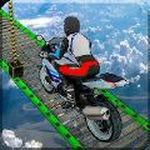 摩托车空中赛道3D