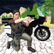 警察自行车驾驶模拟器