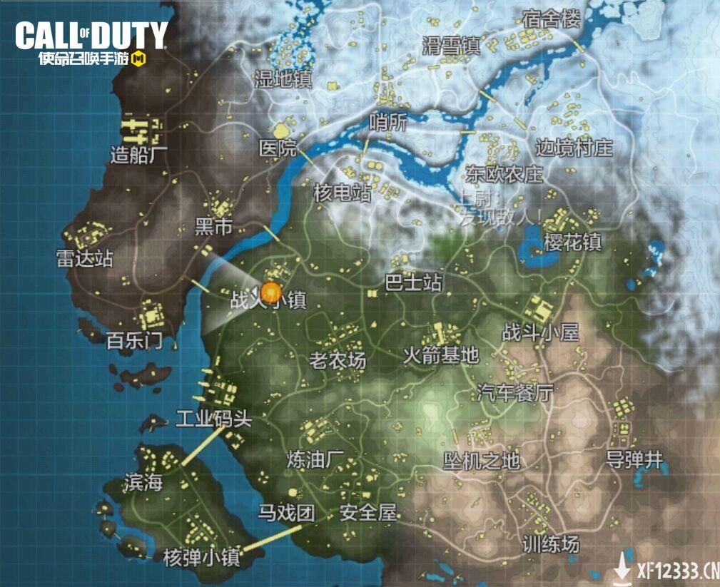 """多样地图承载经典记忆 《使命召唤手游》""""使命战场""""地图全览"""