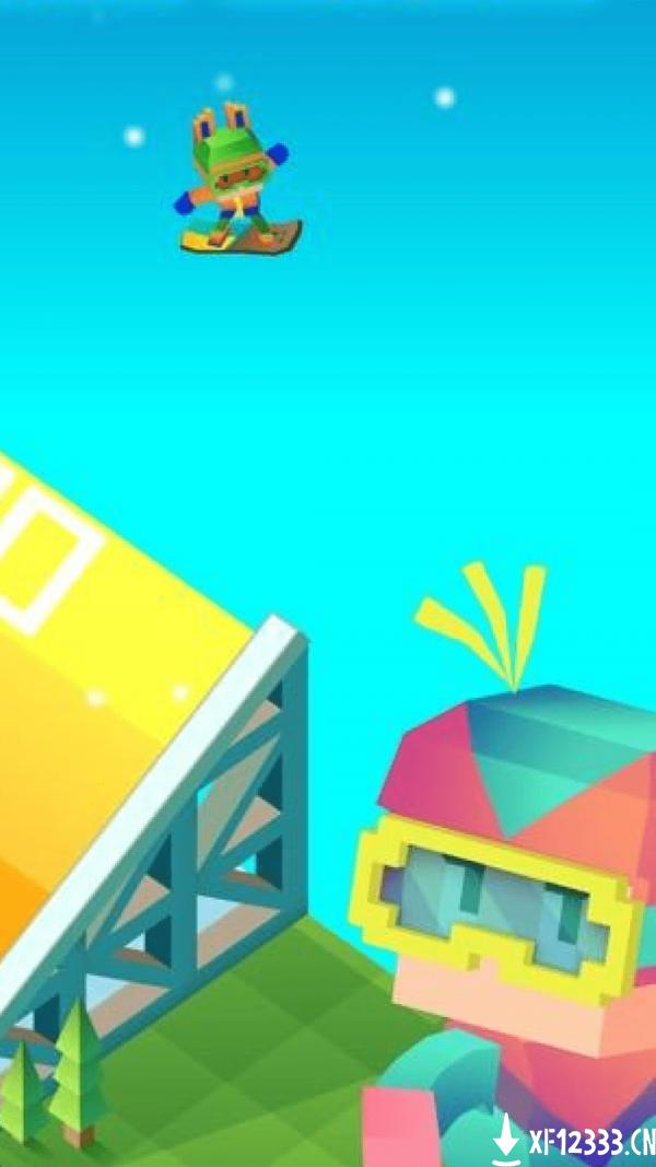 像素方块滑雪手游下载_像素方块滑雪手游最新版免费下载