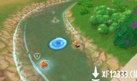 摩尔庄园水上的漩涡是什么
