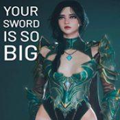 你的剑太大了手机版